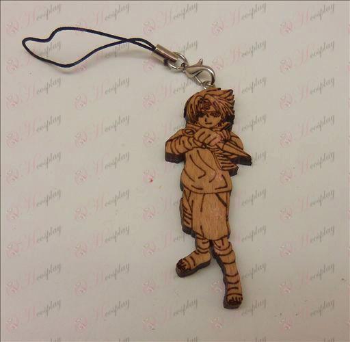 Grabado en madera de la máquina Sasuke cuerda