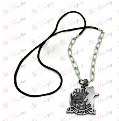 D Conan 16 anniversary of punk long necklace (silver)