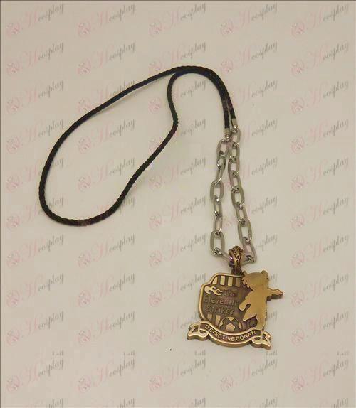 D Conan 16 anniversary of punk long necklace (bronze