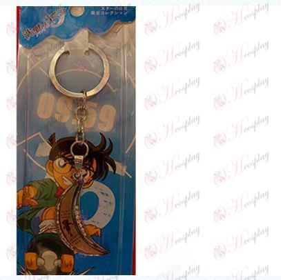 Conan moon keychain