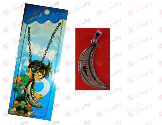 Conan O word moon necklace