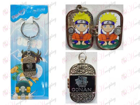 Conan the fifth anniversary of the photo frame keychain