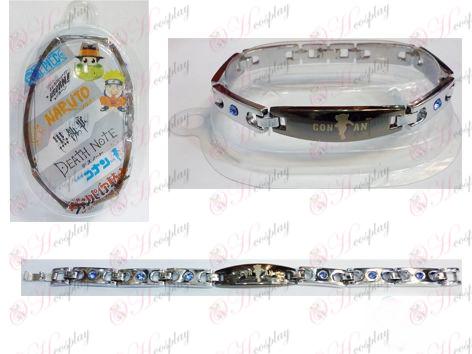 Conan roestvrijstalen diamanten armband