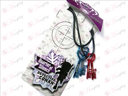Conan key Couple Necklace Halloween Accessories Online Store
