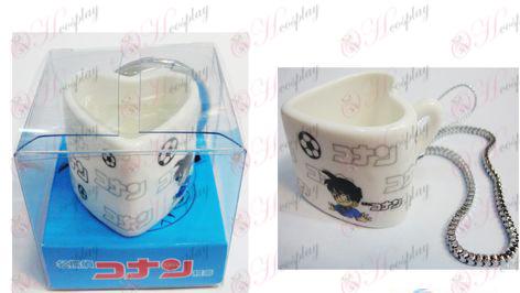 Conan heart-shaped ceramic cup Strap