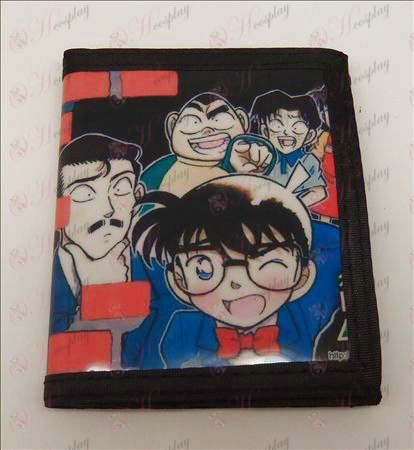 PVC wallet Conan