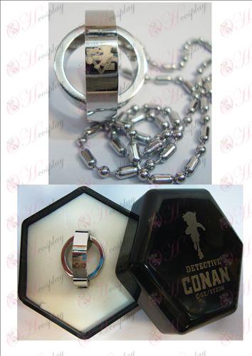 Conan 16η επέτειο διπλό κολιέ δαχτυλίδι