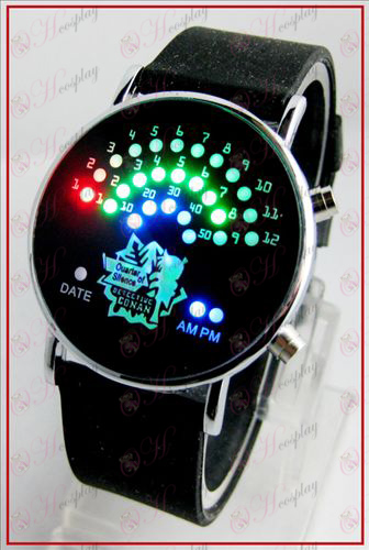 Färgglada koreanska Fan LED klockor - Conan 15 årsdag
