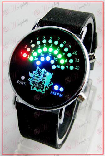 Colorful korean fan LED watches - Conan 15 anniversary