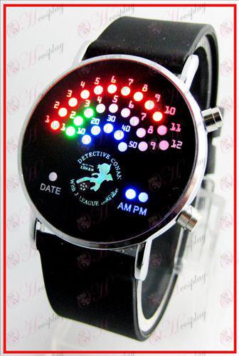 Bunte koreanische Fan LED Uhren - Conan 16 Jahrestag