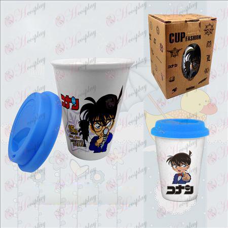 Doppelte Farbe Keramik-Tassen (Conan)