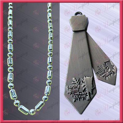 Conan -15 anniversary tie necklace