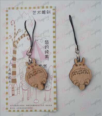 Chinchilla Wood Carving Strap (a)