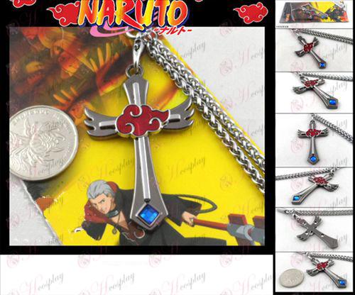 Naruto Strap Gun Colore Red Cloud