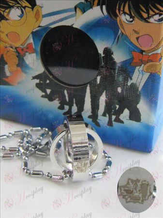 Conan the fifth anniversary of the double ring necklace