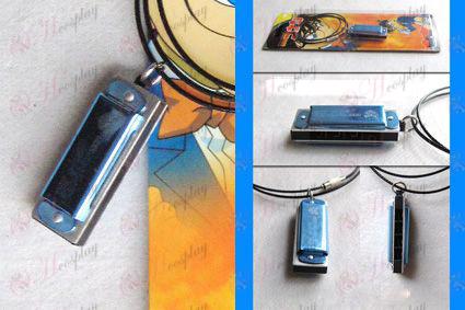 Conan harmonica necklace