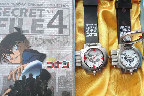 14th Anniversary Gift Box DMB Conan laser watch (silver)