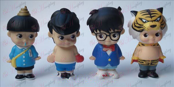 4 modelos Conan muñeco (10-11cm)