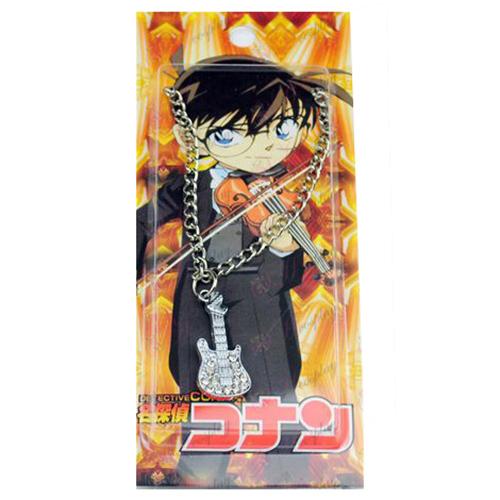 Nameščen Conan diamantno ogrlico violina kartice
