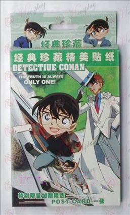 32 autocollants Conan