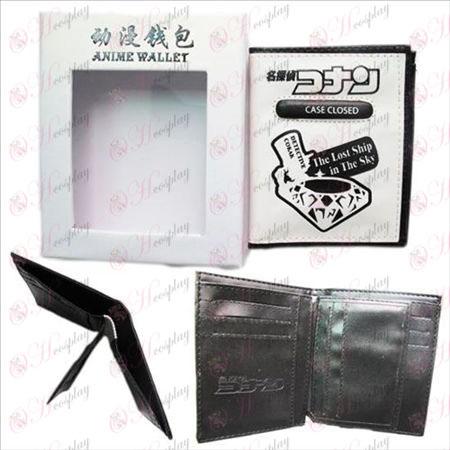 Conan 14 weeks boxed white embossed wallet