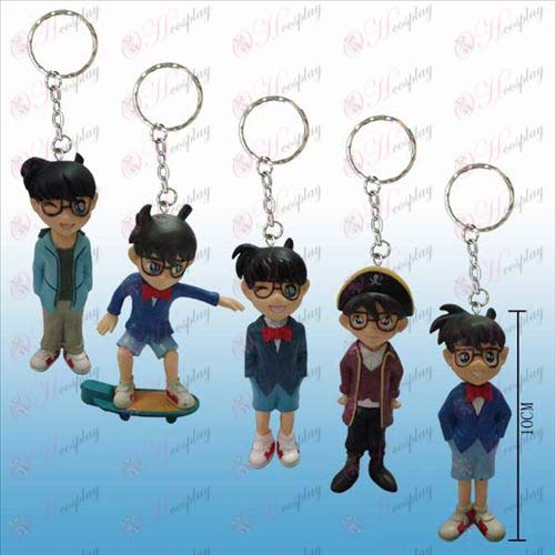 A5 models Conan character with large doll key chain