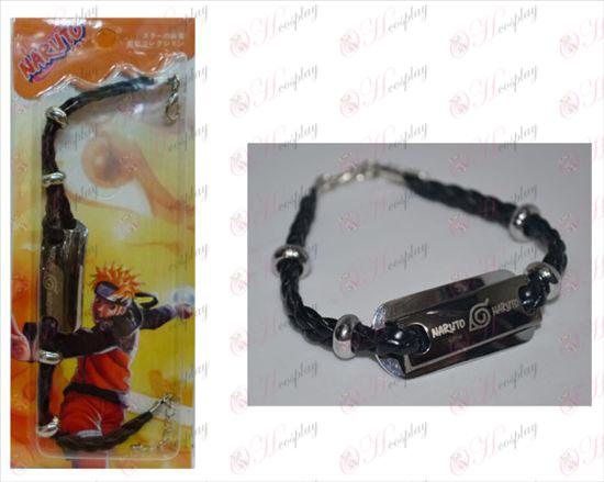 Naruto bracelet en cuir Shuangpai
