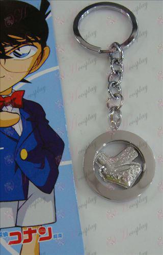 White Steel keychain 14th Anniversary of Conan