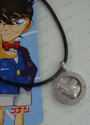 14th Anniversary of white steel necklace Conan