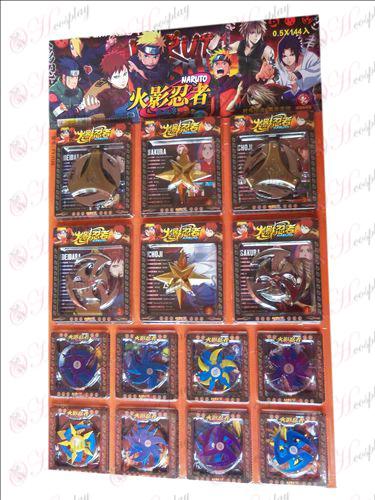 Pacote de armas Naruto