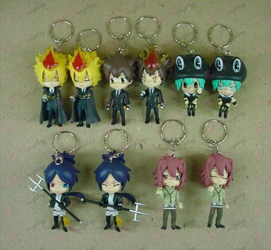 10 on behalf of 10 Reborn! Accessories keychains