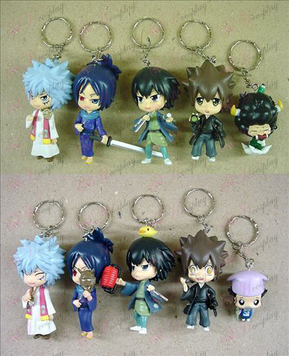 9 on behalf of 10 Reborn! Accessories keychains