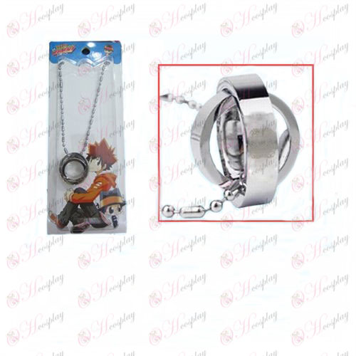 Reborn! Accessories Vongola double ring necklace (card)