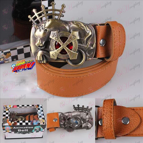 Temple prison tutor Vongola Lan\'s ruby 6 belt