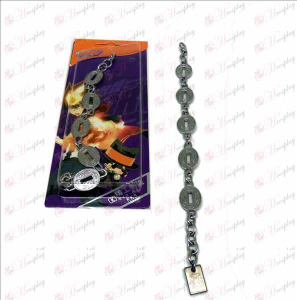 D family division Yamamoto logo metal bracelet
