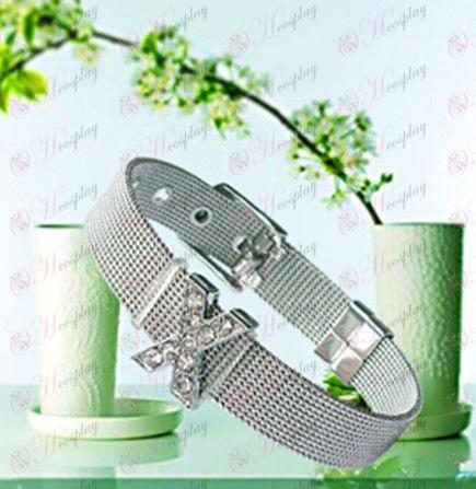 Reborn! Accessories-ah Gang X-ray stainless steel bracelet