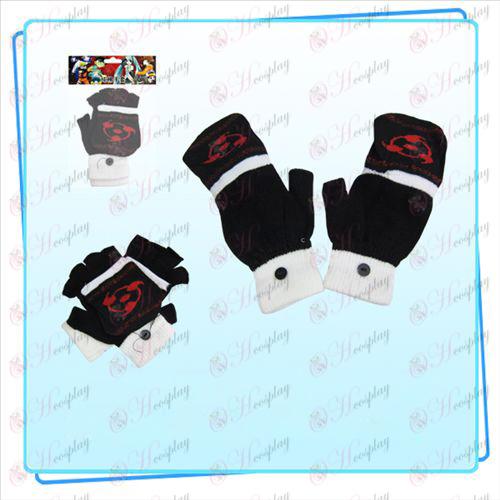 Write round eyes dual glove (black)