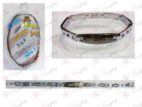 Reborn! Accessories big empty stainless steel diamond bracelet