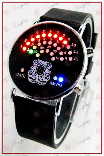 Coloridos Fan coreana relógios LED - Reborn! Acessórios