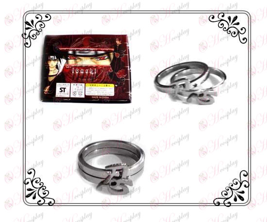 Naruto word tolerance stainless steel couple rings