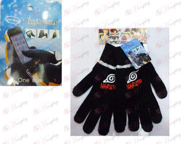 Touch Gloves Naruto konoha logo