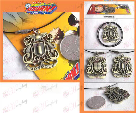 Tutoring crest logo necklace