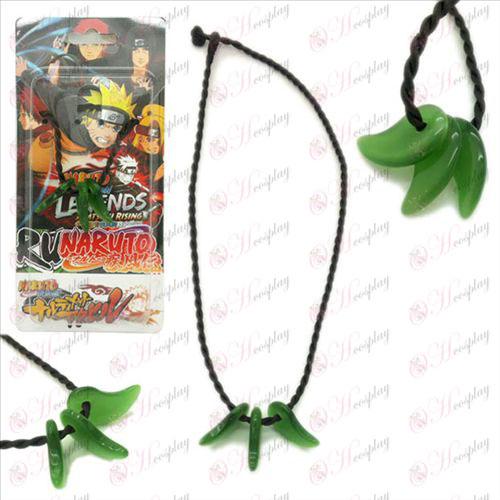 Naruto vio a tres collar de jade gancho