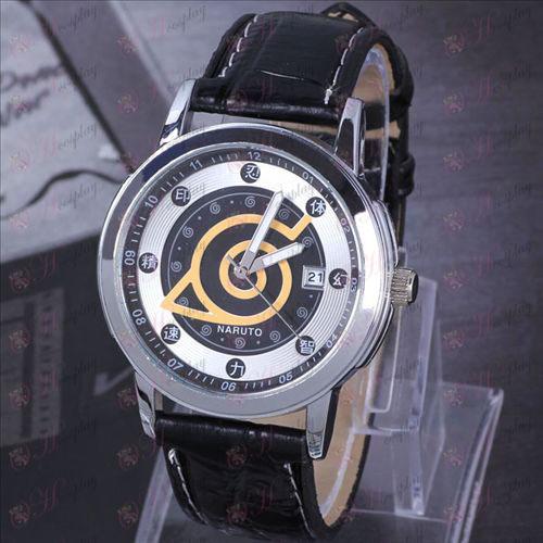 Naruto konoha suspension calendar watch