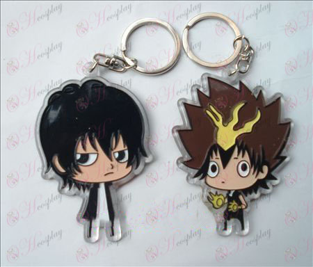 Reborn! Accessories organic Keychain (6 / set)
