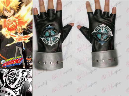 Tutoring generation evolution of punk gloves