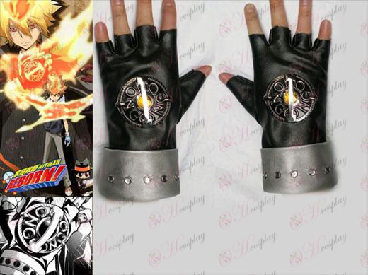 Tutoring golden generation punk gloves