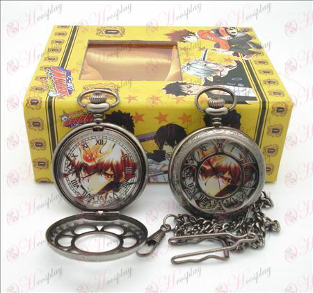 Reborn! Accessories A steel hollow pocket watch + Cards