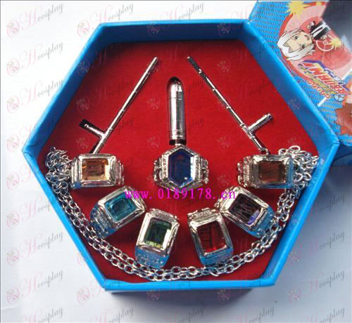 Reborn! Accessories Box 7 of the Simon family gem ring + weapon
