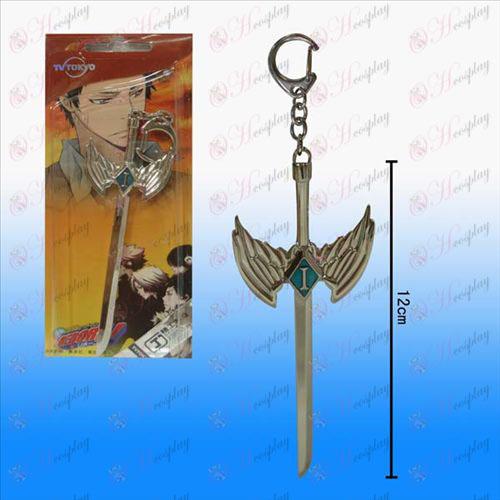 Reborn! Accessories Yamamoto Wu Yanzi buckle hanging sword weapon